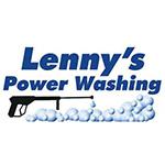 lennys power washing logo